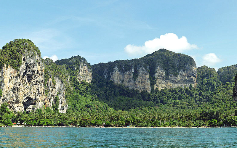 Tonsai Beach, Railay Thailand